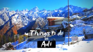 Read more about the article 11 Best Things to do in Auli for an Adventure Trip