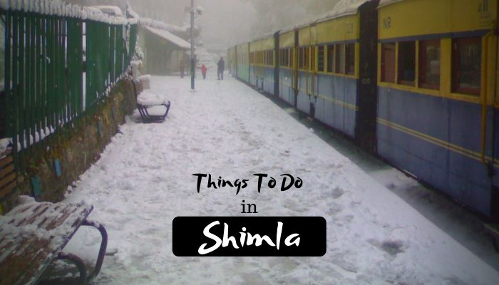 Read more about the article 11 Amazing Things to do in Shimla – Queen of Hill Station